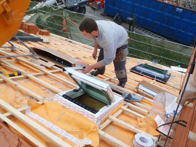 Dachfenster und Oblichter