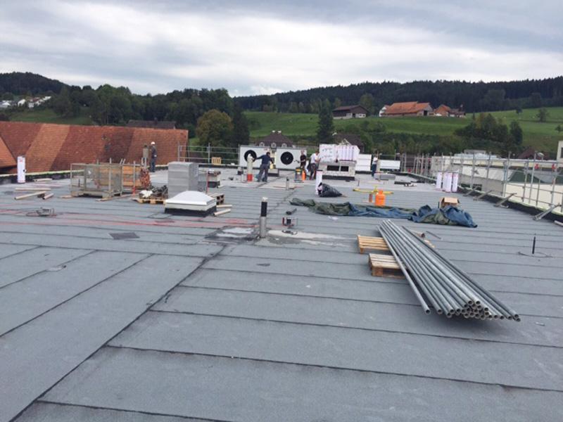 Neubau Gewerbebau Sirnach