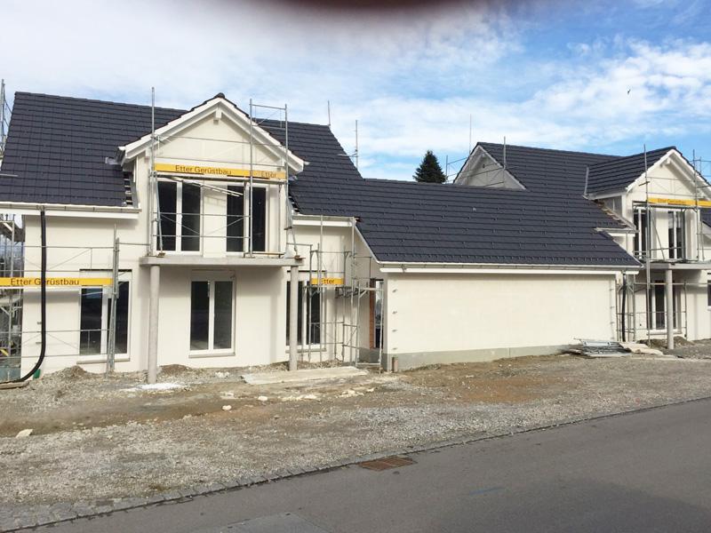 Neubau Steildach Bissegg